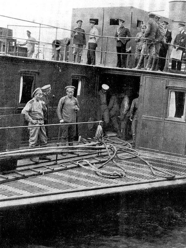 Канонерская лодка Камской флотилии Колчака. Фото: https://history.wikireading.ru/269849 -