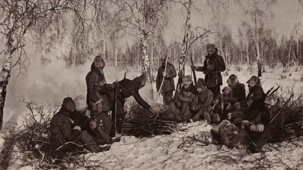 Чехословацкие легионеры и кража золотого запаса России