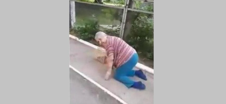В Пермском крае инвалид ползком добиралась до магазина