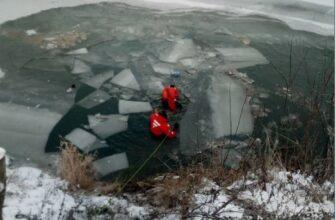 Автомобиль с женщиной и маленькими детьми упал в речку Мулянку в Перми
